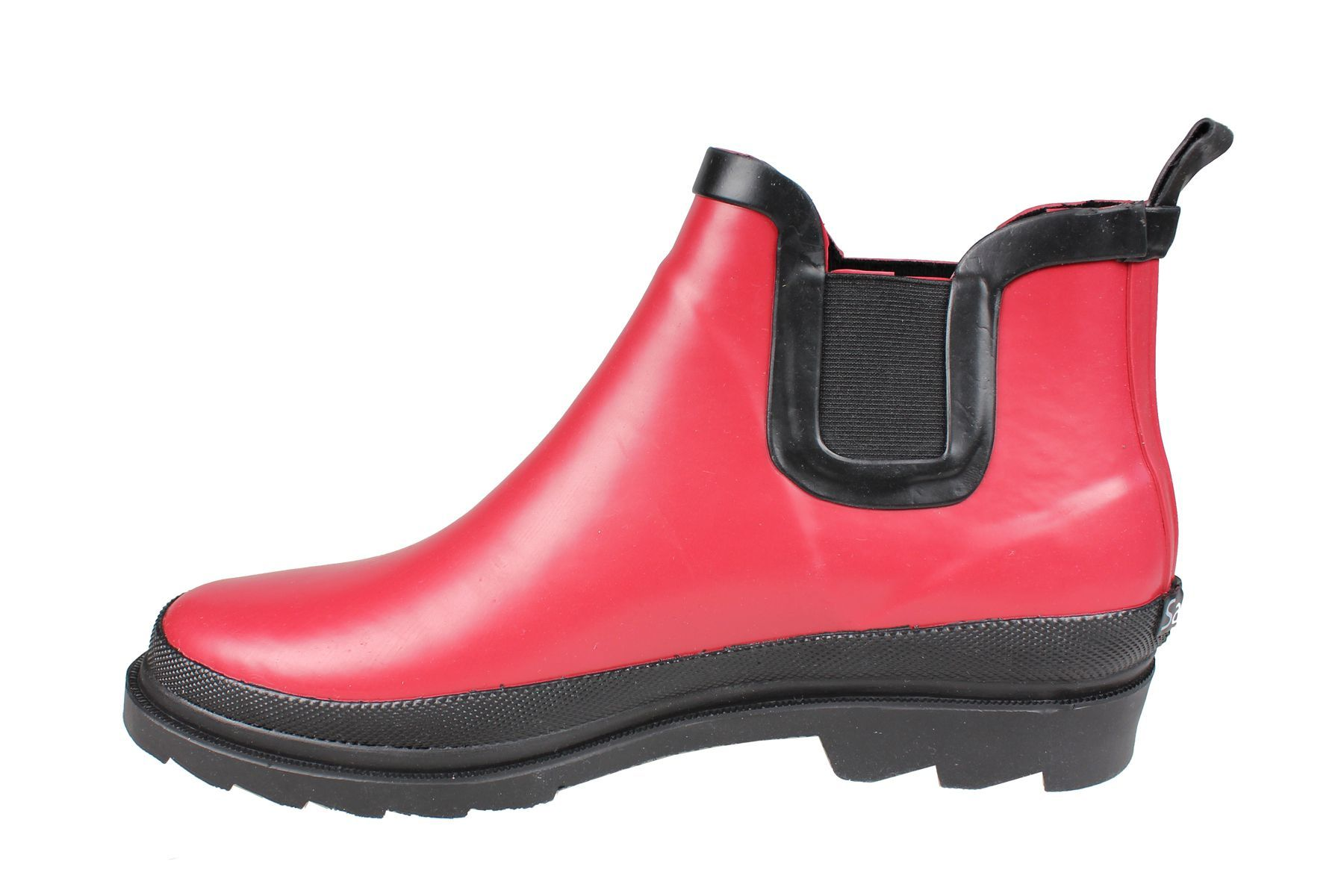 Sanita Felicia Ankle Welly Red