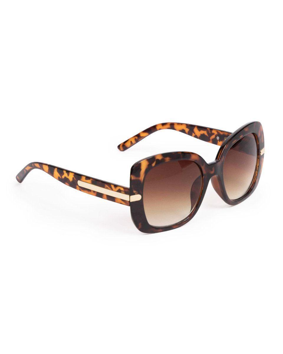 Powder Roxanne Sunglasses in Tortoiseshell