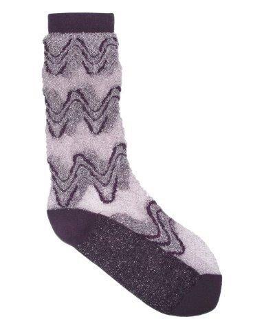 Unmade Copenhagen Bertilde Sock in Damson
