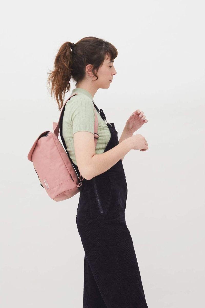 Lefrik Scout Mini Rucksack in Dusty Pink
