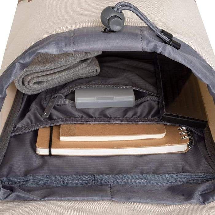 Lefrik Scout Mini Rucksack in Ecru
