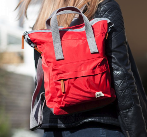 Roka Bantry B Small Bag in Cranberry