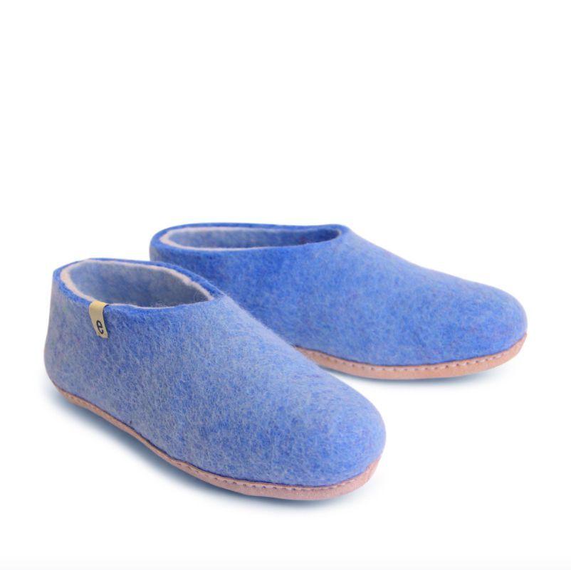 Egos Copenhagen Indoor Shoe in Light Blue