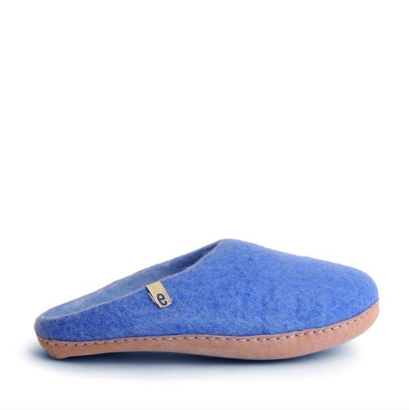 Egos Copenhagen Slip-on Indoor Shoe in Light Blue