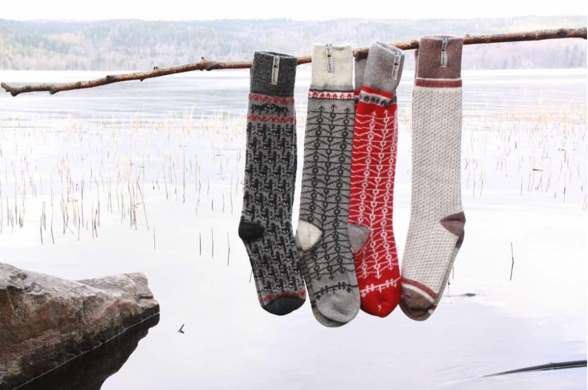 Öjbro Ringdans Elin Wool Sock