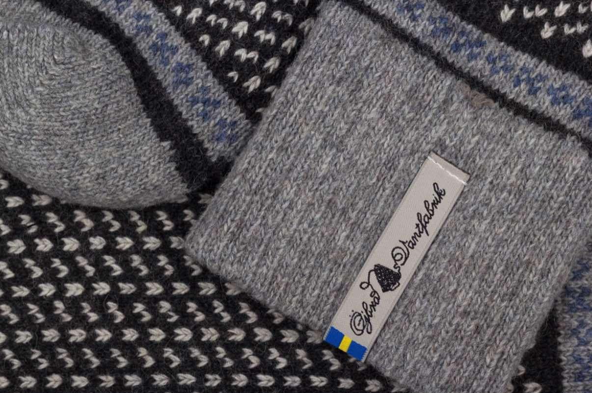 Öjbro Skaftö Sot Wool Sock