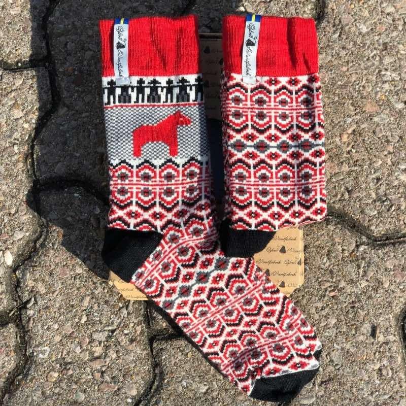 Öjbro Dalarna Merino Wool Sock Gift Box