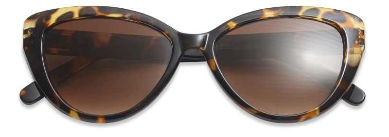 Have A Look Cat Eye Sunglasses in Tortoise