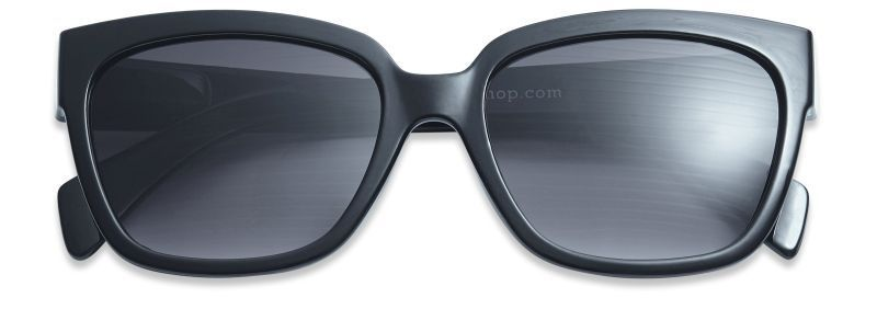 Have A Look Mood Sunglasses in Black