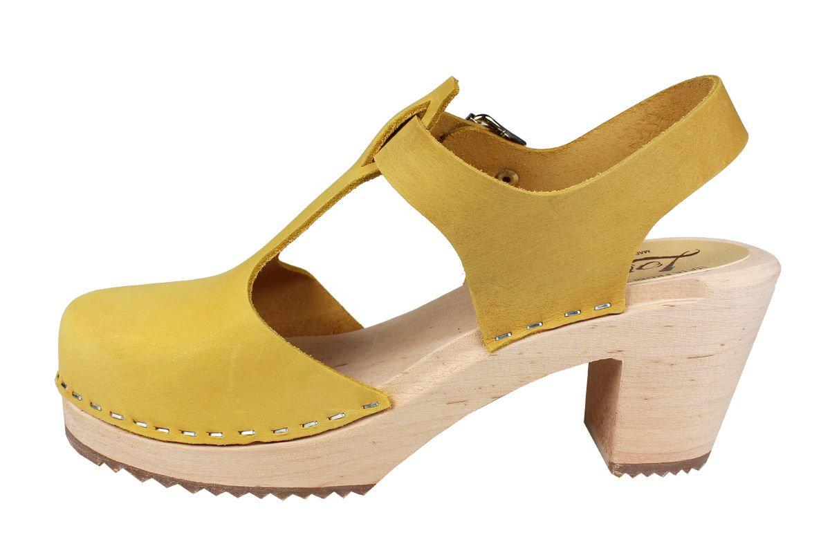 Highwood T-Bar Yellow Oiled Nubuck Seconds