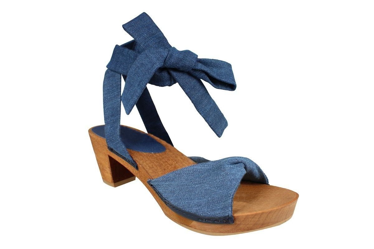 Sanita Tirsa Flex Vegan Made of 100% Upcycled Denim