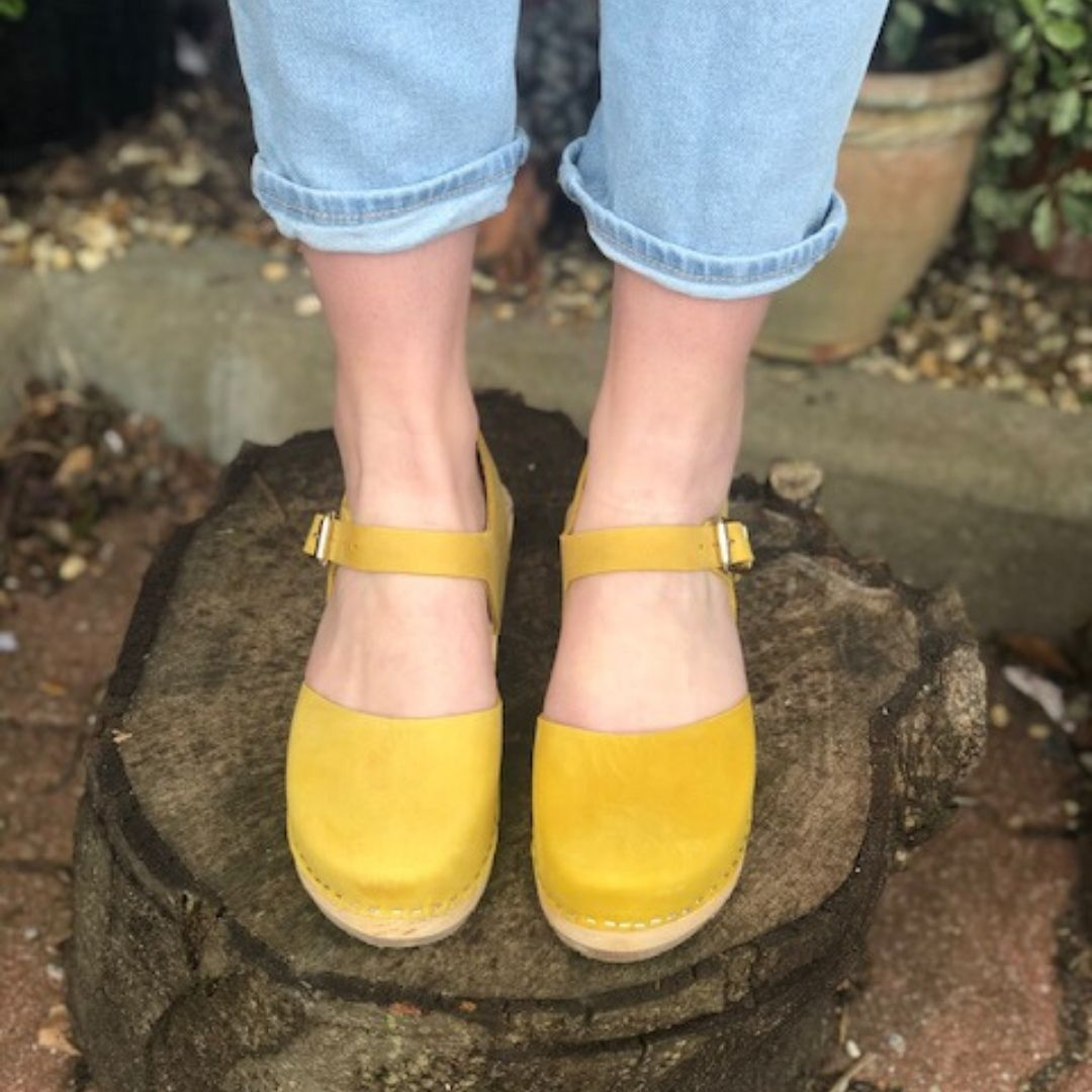 Highwood Yellow Oiled Nubuck