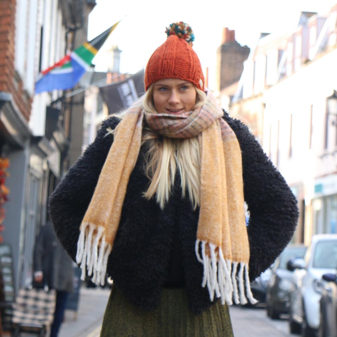 Unmade Copenhagen Damara Scarf in Bling