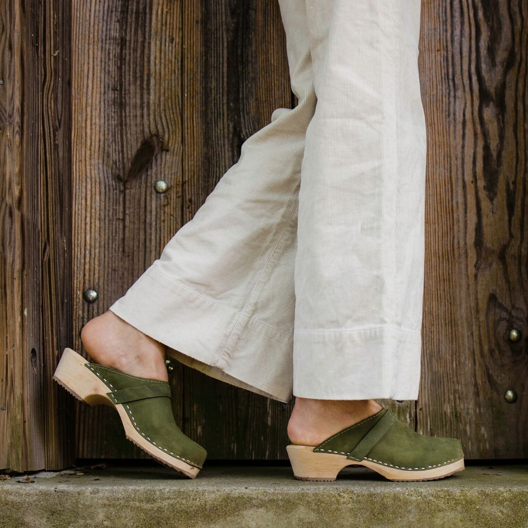 Classic Green Oiled Nubuck Seconds