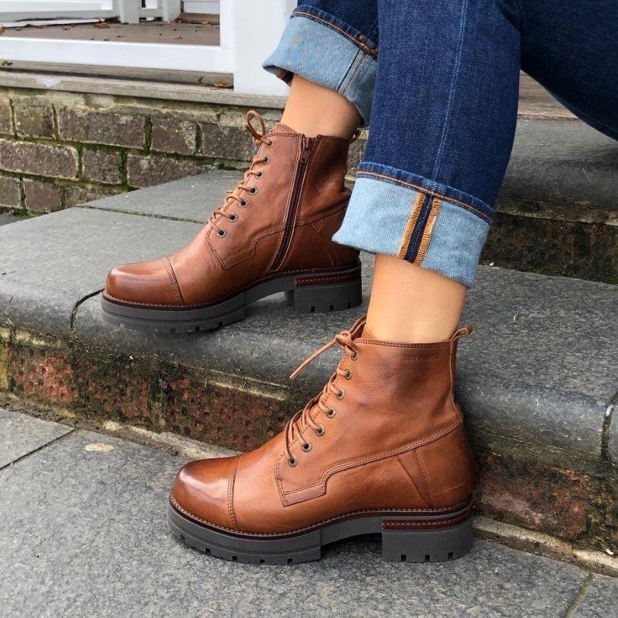 Ten Points Alice Cognac Boot