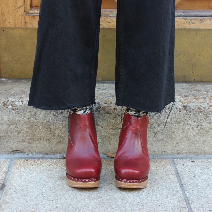 Calou Doris Boot in Red
