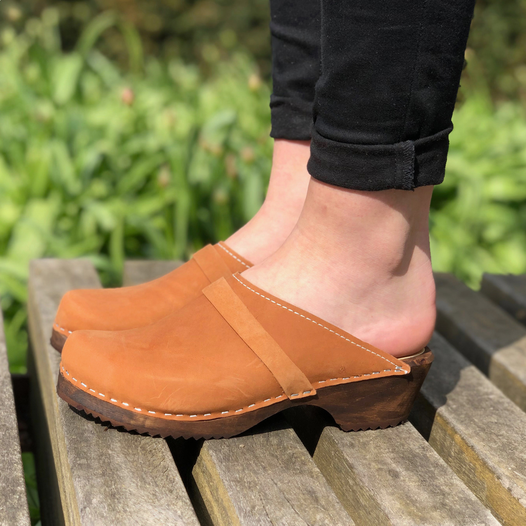 Classic Brown Oiled Nubuck on Brown Base - Seconds