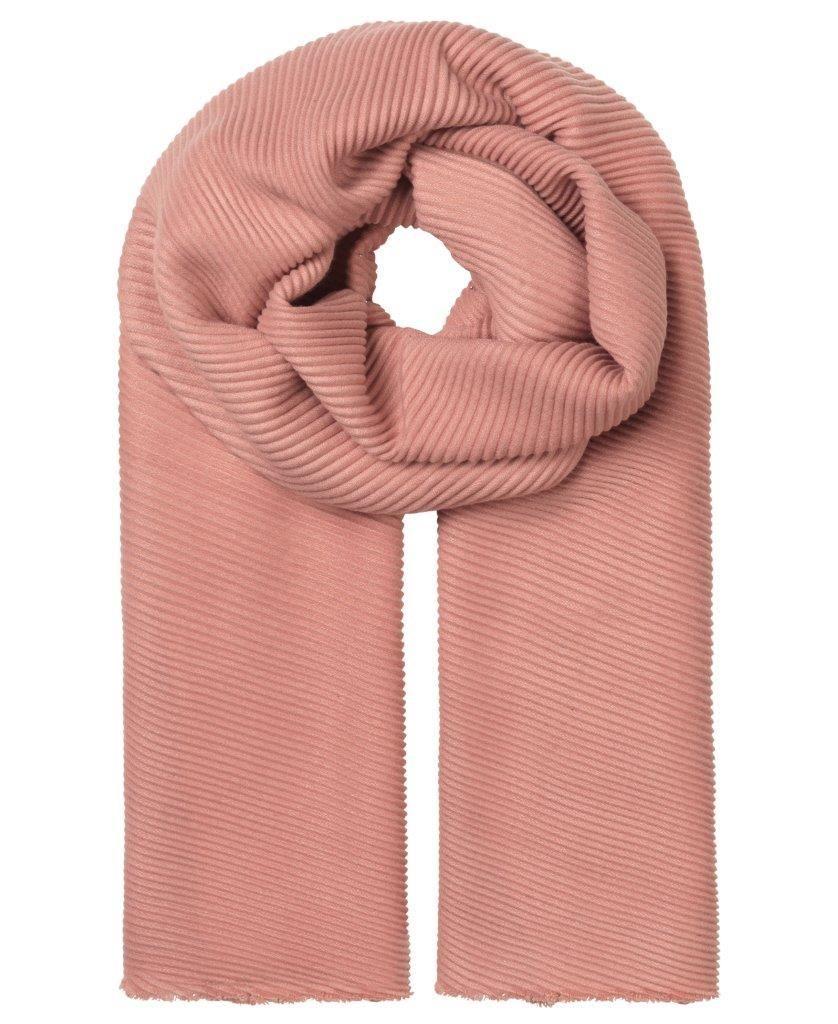 Unmade Copenhagen Elvire Scarf in Primrose Pink