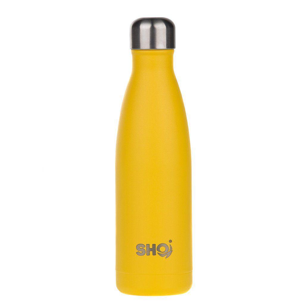 SHO Reusable bottle 500ml Yellow