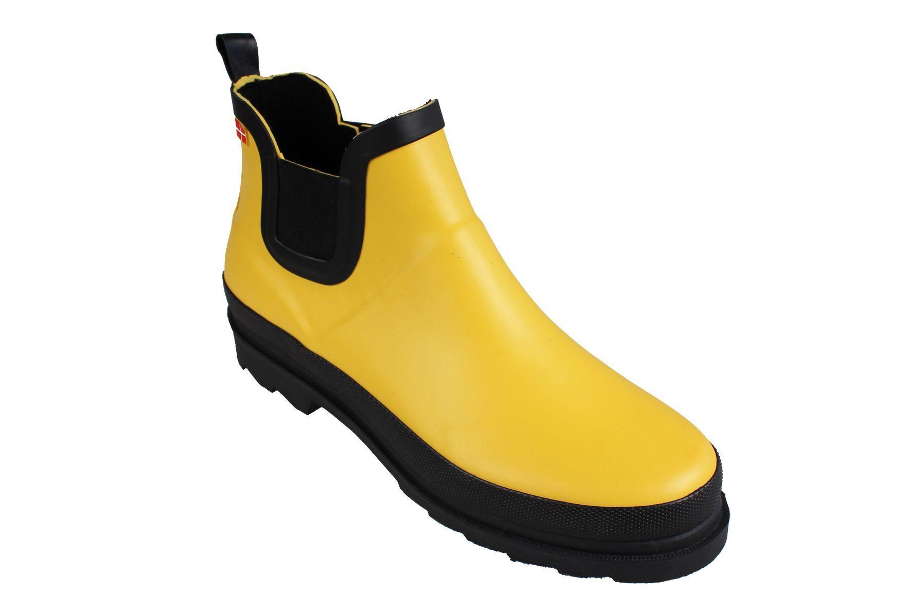 Sanita Felicia Ankle Welly Yellow