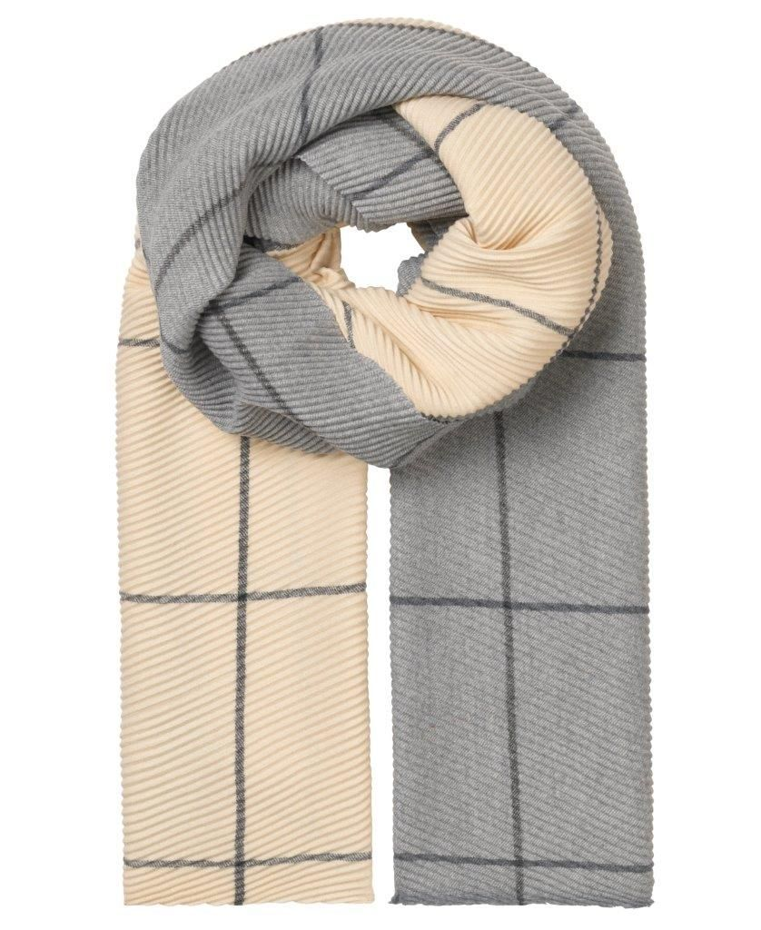 Unmade Copenhagen Banu Recycled Polyester Scarf in Beige