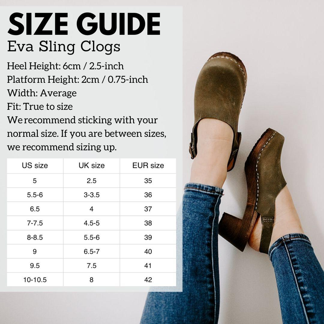 Eva Sling Size Guide