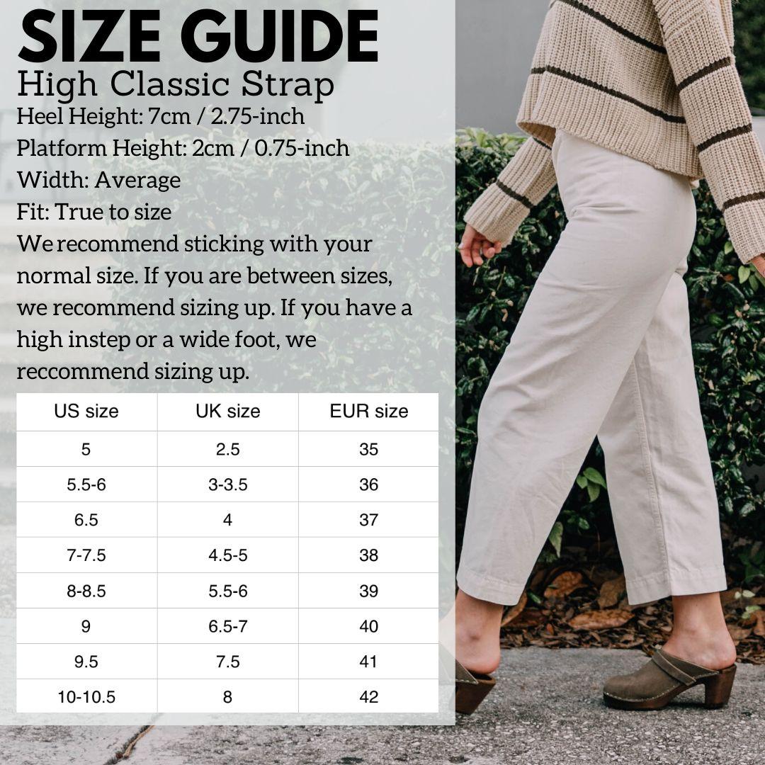 Hi Classic Strap Size Guide