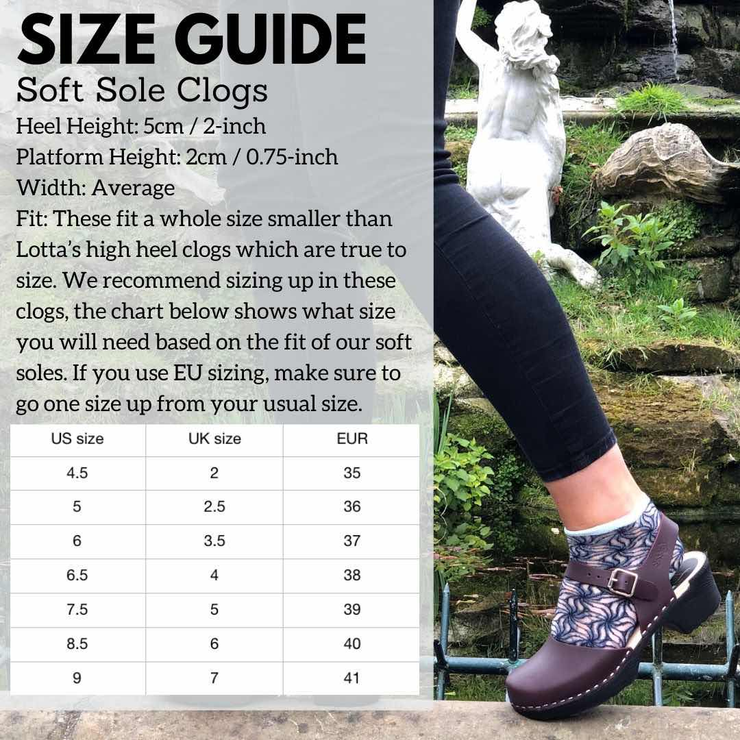 Soft Sole Size Guide